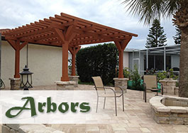 Gallery of beautiful Arbors for your outdoor areas.