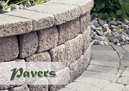 Gallery of stone Pavers and uses